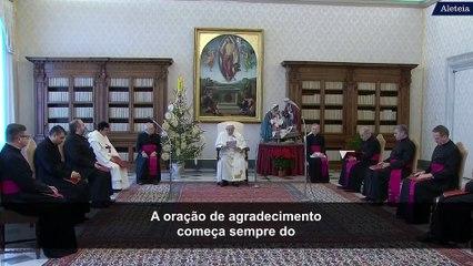 Papa Francisco: a oração de agradecimento