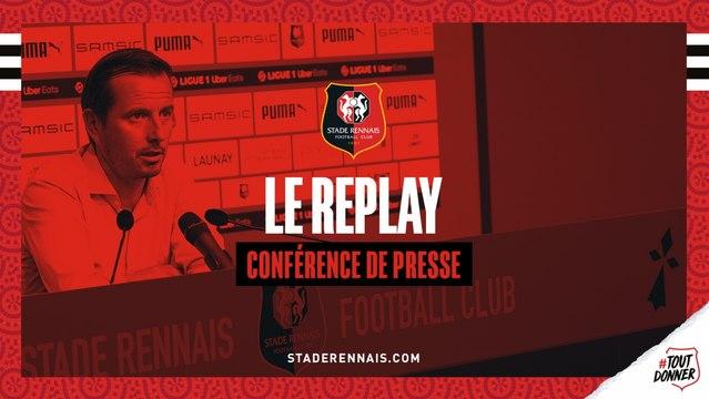 J18. #SRFCOL - Replay de la conférence de presse d'avant-match