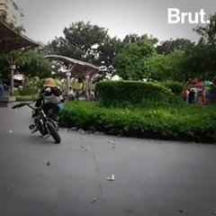 6-Year-Old BMX Daredevil