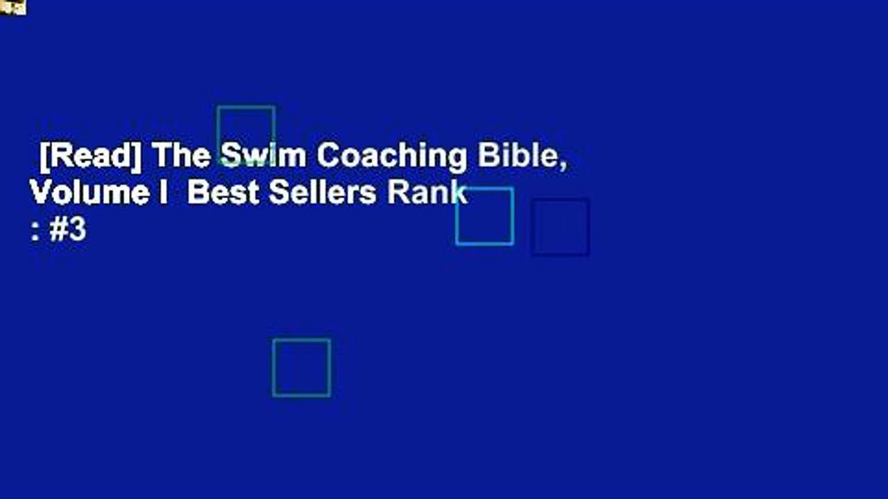 [Read] The Swim Coaching Bible, Volume I  Best Sellers Rank : #3