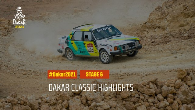 #DAKAR2021 - Stage 6 - Al Qaisumah / Ha'il - Dakar Classic Highlights