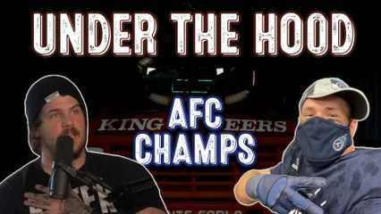 UNDER THE HOOD   THE BOYS ARE AFC SOUTH CHAMPS