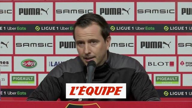 Stéphan : « Un potentiel offensif de très haut niveau » - Foot - L1 - Rennes
