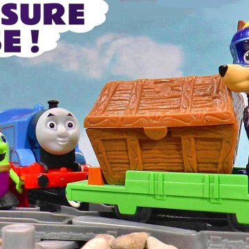 Paw Patrol Mighty Pups Super Paws in this Treasure Rescue Chase with Marvel Ultron and the Joker plus Tom Moss and Thomas and Friends in this Family Friendly Full Episode English Toy Story for Kids