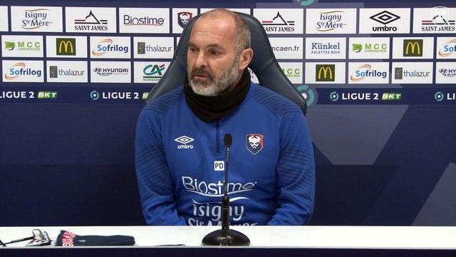 J18 Ligue 2 BKT : La conférence de presse avant SMCaen / Toulouse FC