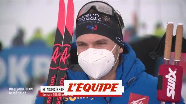 Jacquelin : « Il faut que je fasse gaffe à ma santé » - Biathlon - CM (H)