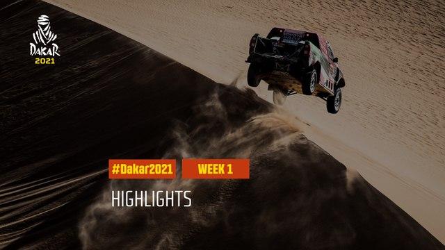 #DAKAR2021 - Week 1 Highlights