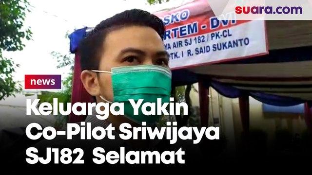 Keluarga Co-Pilot Sriwijaya SJ182 Diego Mamahit Yakin Anak Bungsunya Selamat