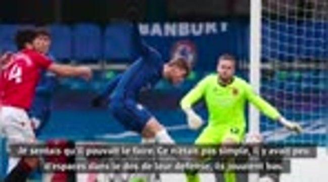 """Cup - Werner et Havertz buteurs, """"un pas en avant"""" pour Lampard"""