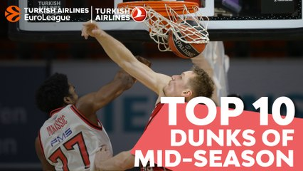 Top 10 Dunks of Mid-season!