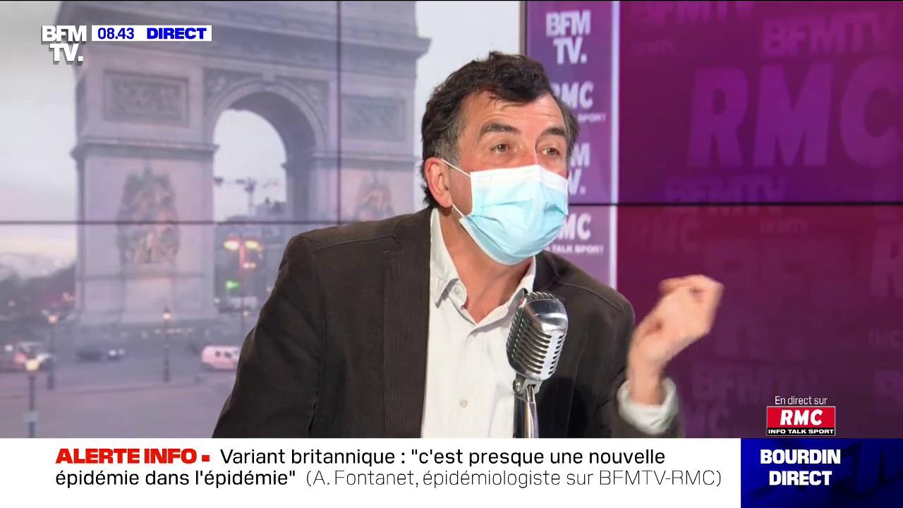 """Covid-19: l'épidémiologiste Arnaud Fontanet rappelle que les personnes doivent s'isoler """"dès le début des symptômes"""""""