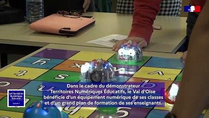Territoires numériques éducatifs dans le Val d'Oise