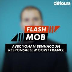 Flashmob : Moovit (Yohan Benhacoun)