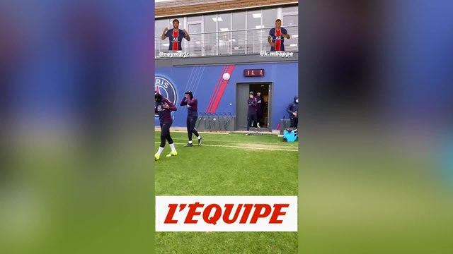 Neymar et Kimpembe de retour à l'entraînement - Foot - PSG