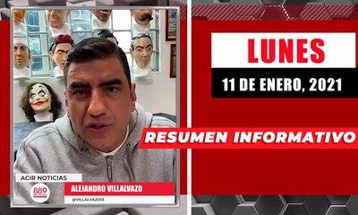 Resumen de noticias lunes 11 de enero  2021 / Panorama Informativo / 88.9 Noticias