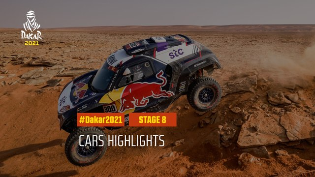 #DAKAR2021 - Stage 8 - Sakaka / Neom - Car Highlights
