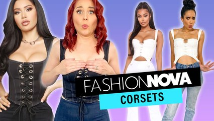 Trying Crazy CORSETS From Fashion Nova?