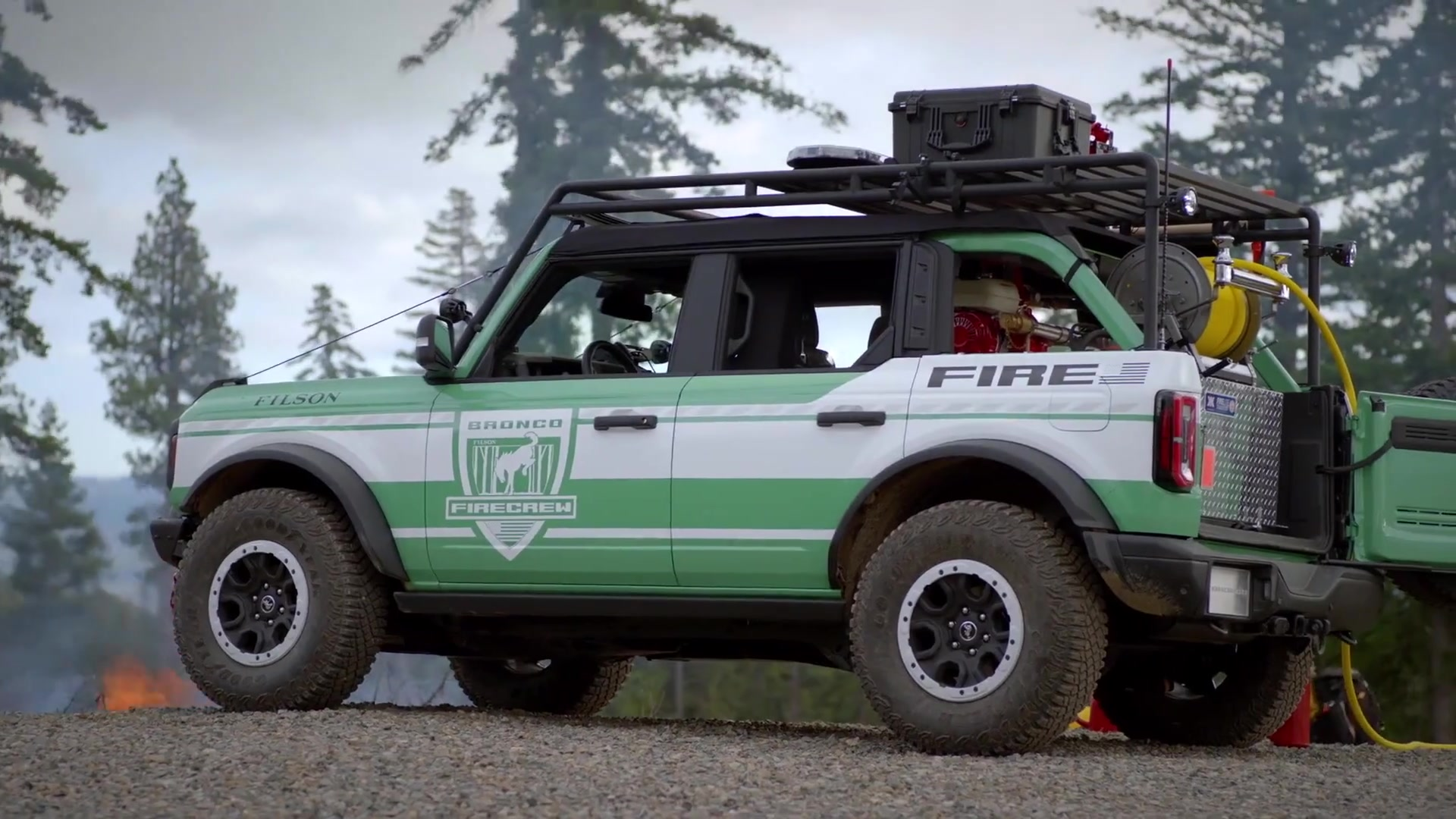 Ford Bronco and Filson Wildland Fire Rig Concept
