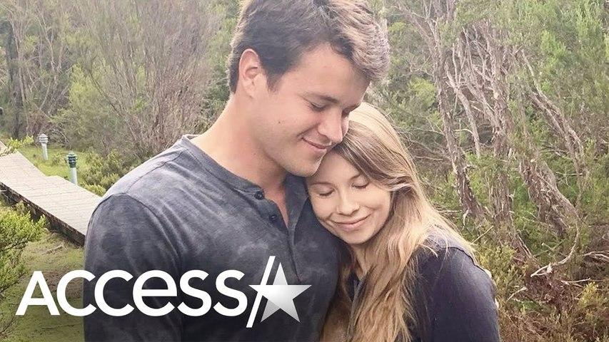 Pregnant Bindi Irwin Snuggles w- Husband As Due Date Nears