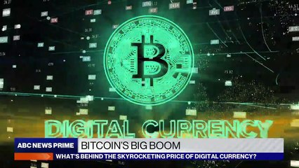 What's driving Bitcoin's big boom