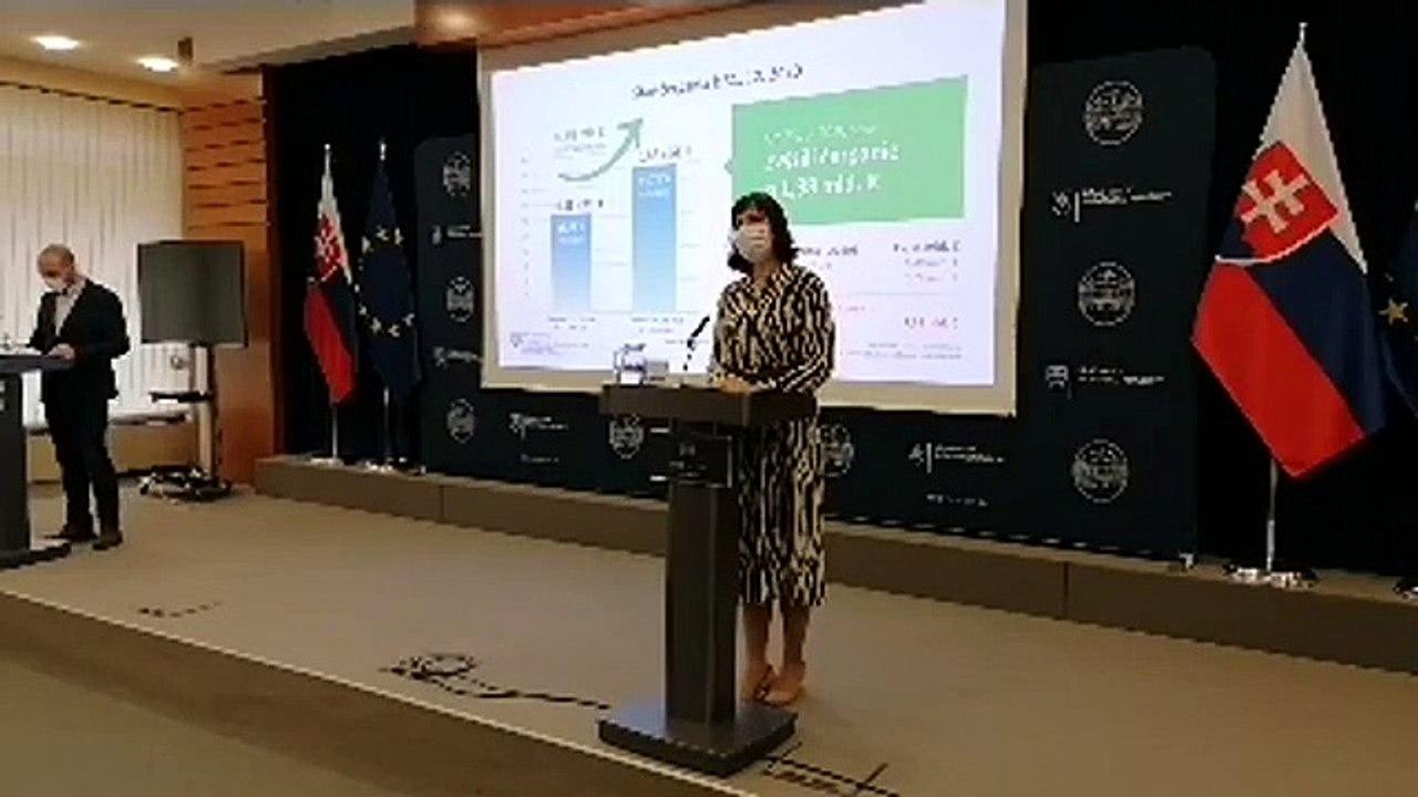 ZÁZNAM: TK podpredsedníčky vlády Veroniky Remišovej