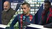 J19 Ligue 2 BKT : Les réactions de P.Dupraz, A.Mendy et J.Pi après SMCaen 2-2 Toulouse FC