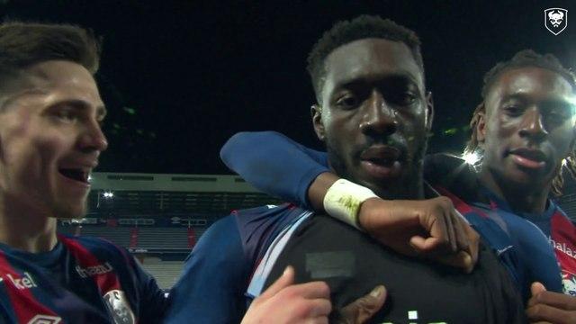Focus sur Alexandre Mendy qui a marqué son premier but avec le SMCaen face à Toulouse (J19 Ligue 2 BKT)