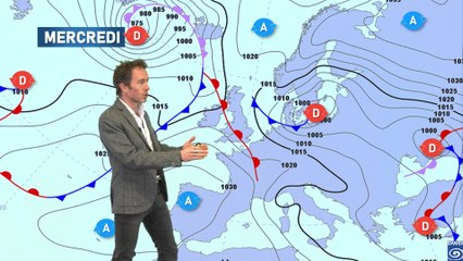 Illustration de l'actualité La météo du mercredi 13 janvier 2021