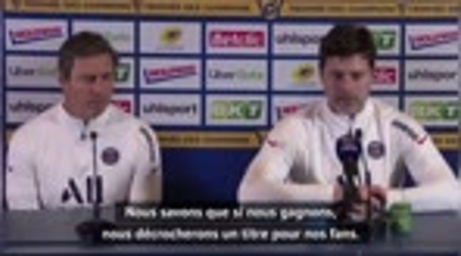 "PSG - Pochettino : ""Gagner pour la fierté"""