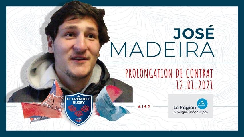 Rugby : Video - José Madeira : « Je dois encore beaucoup évoluer »