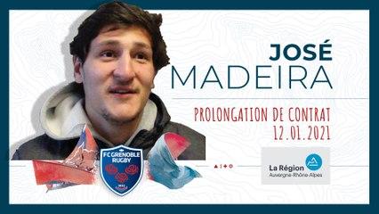 José Madeira : « Je dois encore beaucoup évoluer »