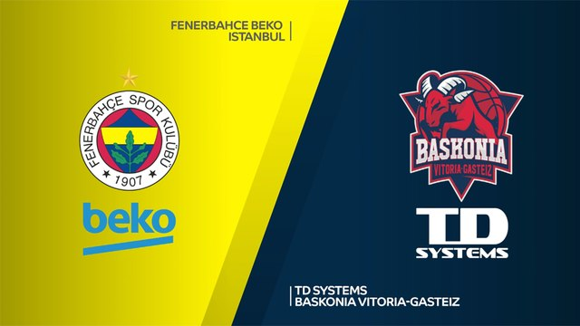 Fenerbahce Beko Istanbul - TD Systems Baskonia Vitoria-Gasteiz Highlights |EuroLeague, RS Round 19