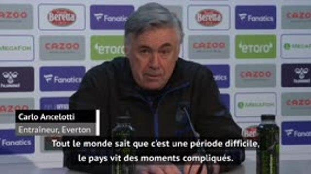 """18ème j. - Ancelotti : """"Le football peut être une bonne distraction"""""""