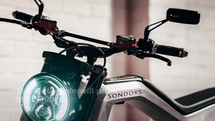 2021 Sondors Metacycle Electric Motorcycle First Look