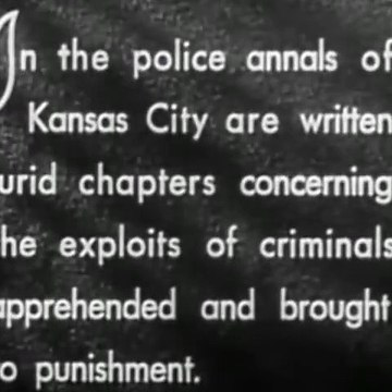 Kansas City Confidential (1952) [Film Noir] part 1/2