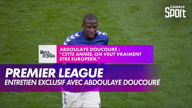 Abdoulaye Doucouré (Everton) se confie au micro de CANAL+