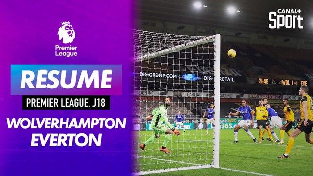 Le résumé de Wolverhampton / Everton