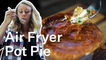 Easy Air Fryer Chicken Pot Pie Recipe That's Too Easy Not To Try