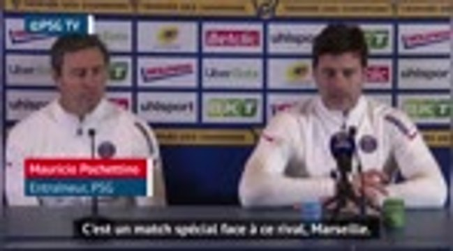 Trophée des champions - Le rival marseillais, Neymar, Mbappé... L'essentiel de la conf' de Pochettino