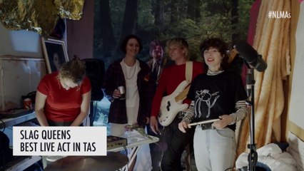 Slag Queens wins Best Live Act in TAS at NLMAs 2020 - Presented by Edge Radio