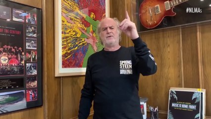 TOOL win Best International Tour at the National Live Music Awards 2020 - Presented by Oztix - Michael Gudinski (Frontier Touring) Accepts