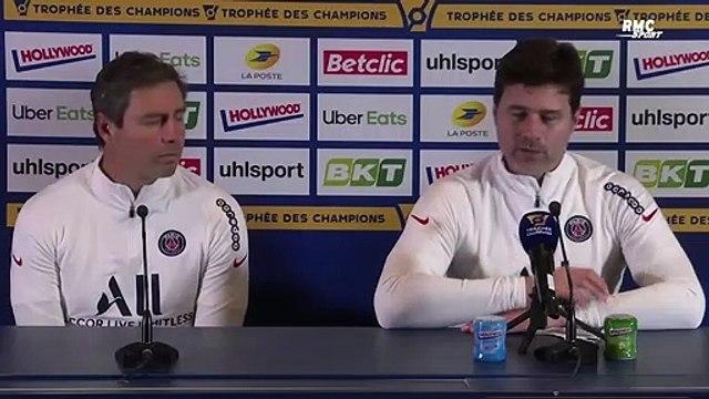 Trophée des champions : Retrouvailles, Pochettino, titre... PSG - OM, acte 2