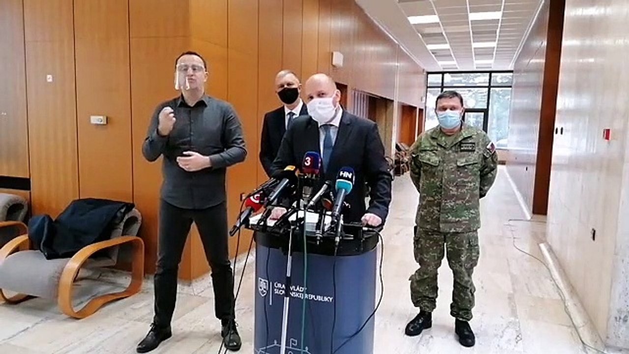 ZÁZNAM: Brífing ministra obrany J. Naďa