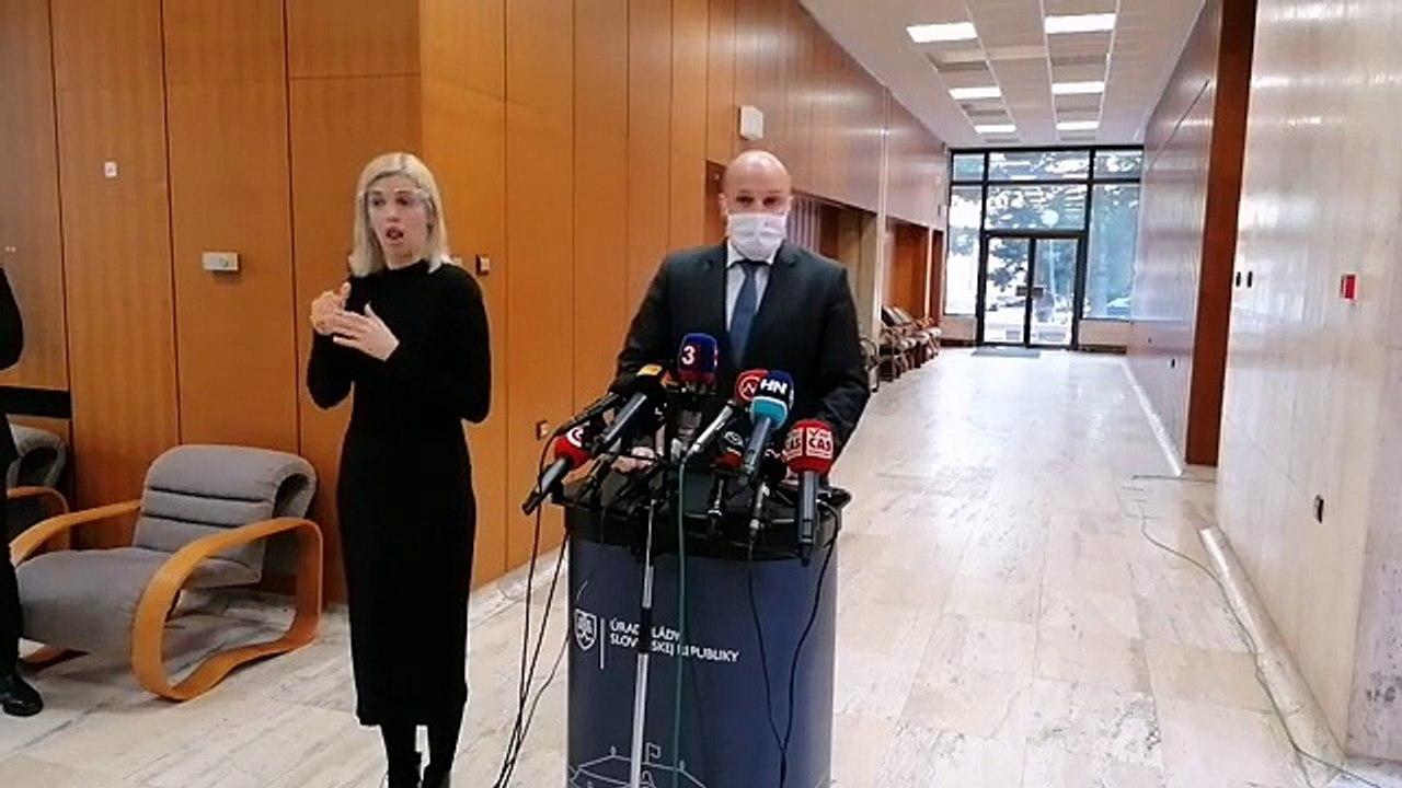 ZÁZNAM: Brífing ministra obrany J. Naďa po rokovaní Vlády SR
