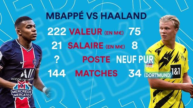 """Mbappé-Haaland, sur qui le Real doit miser ? """"Si on est raisonnable et rationnel..."""""""