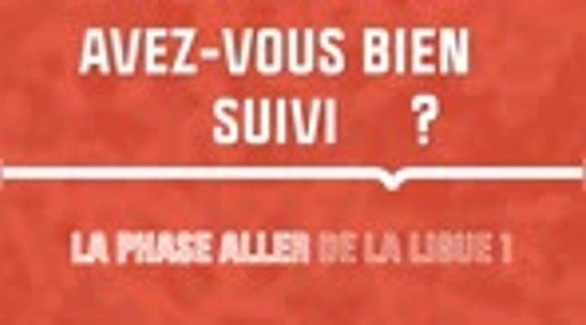 Quiz - Avez-vous bien suivi la phase aller de la Ligue 1 ?