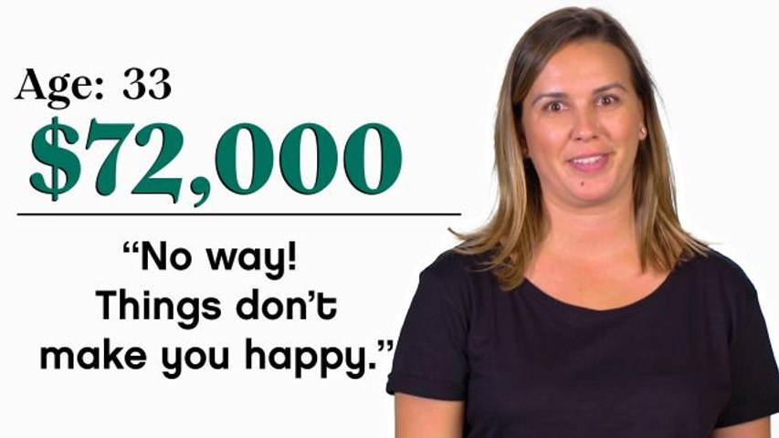 Women of Different Salaries: Can Money Buy Happiness?
