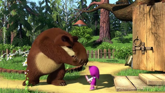 Masha and the Bear - How did it all begin? - Masha's Friends  Bunny Adventures