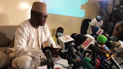 Revivez en intégralité la conférence de presse de Me Moussa Diop - (Version Wolof)