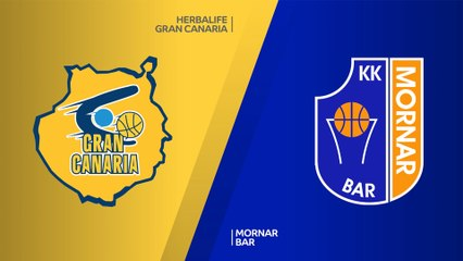 7Days EuroCup Highlights Top 16, Round 1: Gran Canaria 100-102 Mornar